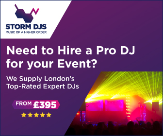 Storm DJs London - Advert